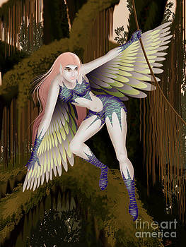 Fantasy fairy2 by Kriss Orayan