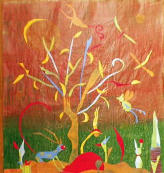 Fantasy Forest by Linnie Greenberg