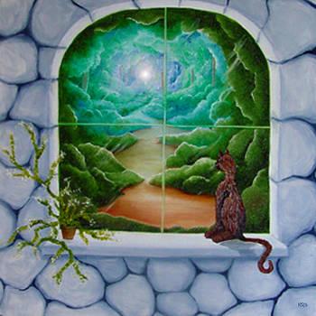 Fantasy Kitty by Karen R Scoville
