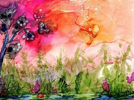Fantasy  Pond by Peggy Mars