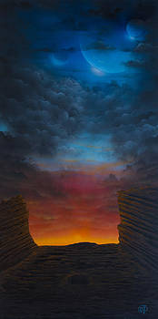 Fantasy Red Rocks by Tyrone Webb