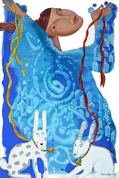 Fantasy swirl by Yelena Revis