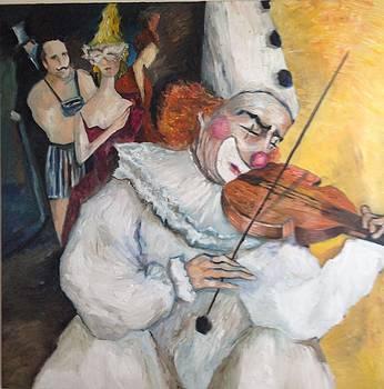 Farewell  by Farid  Fakhriddin 100x100 cm