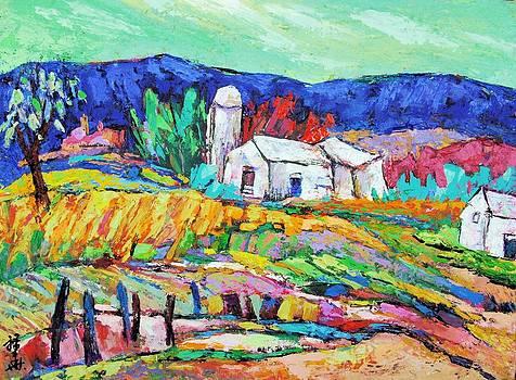 Farm and field by Siang Hua Wang