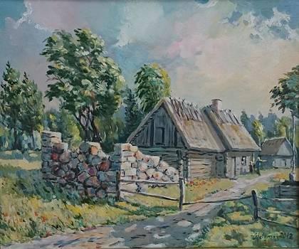 Farm in Pullapaa by Ylo Telgmaa