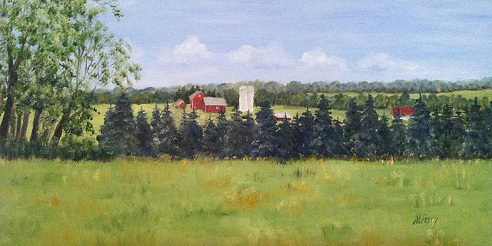 Farm in Rushland by Margie Perry