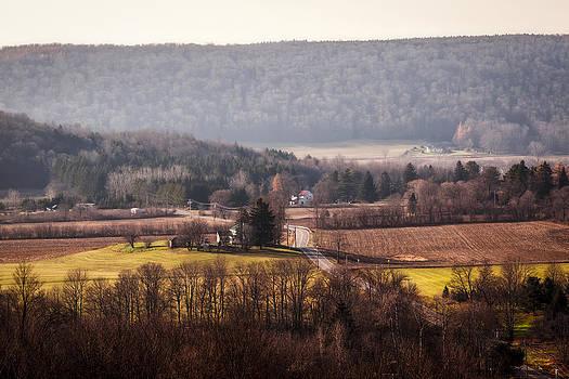 Farm Road by Nick  Shirghio