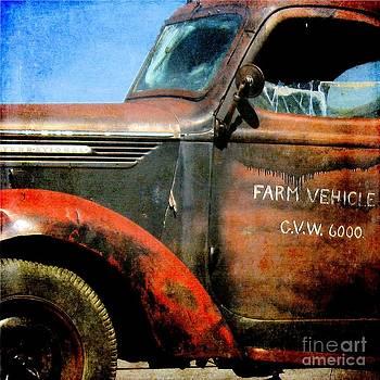 Farm Vehicle by Sharon Marcella Marston