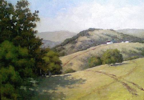 Farm View by Marv Anderson