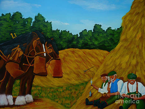 Farm Workers by Anthony Dunphy