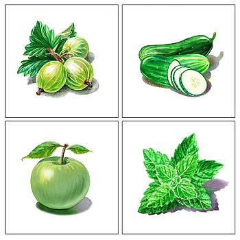 Irina Sztukowski - Farmers Market Gifts Green Vitamins