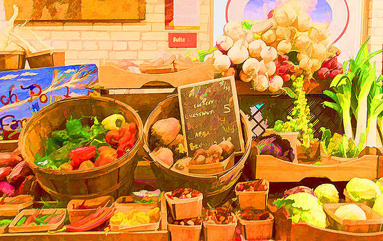 Farmers Market  by Mary Underwood