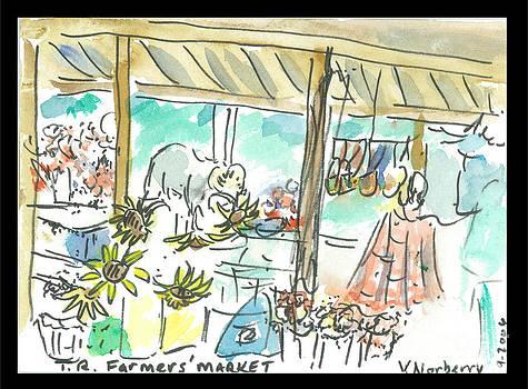 Farmers market by Valerie VanOrden