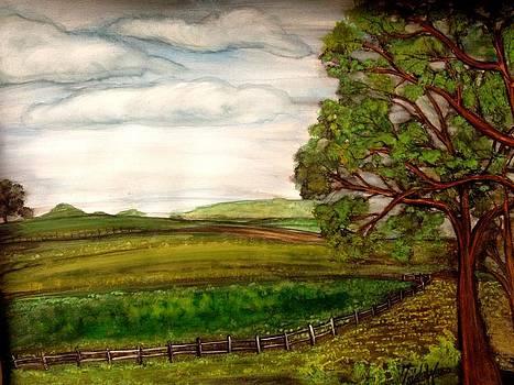 Farmers Retreat.  by Trisha Ward