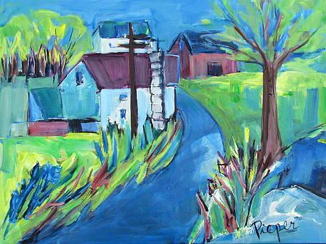 Betty Pieper - Farmhouse in Spring Again