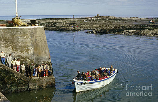 Farne Islands Boat Trip 1980s by David Davies
