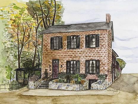 Farnsworth House Inn 1890 by Barbara Murphy