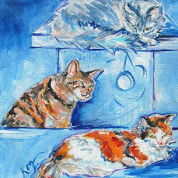 Farrington Felines by Judy  Rogan