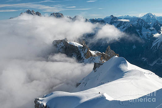 Fascinating Alpine world Chamonix by Juergen Klust