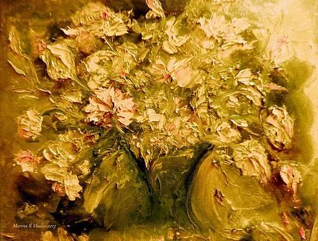 Fascination with Flowers by Marina R Raimondo