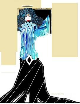 Fashion Angel by Ann Calvo