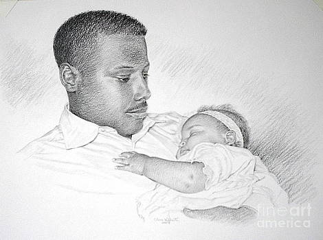 Father and Baby Girl by Clare Villanti