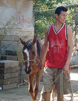 Skarleth - Father Leading Horse