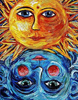 Father Sun and Mother Moon by Sebastian Pierre