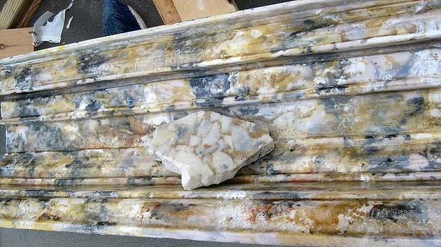 Faux Marble Mantle by Patrick RANKIN