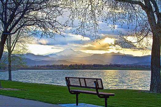 James BO  Insogna - Favorite Bench and Lake View