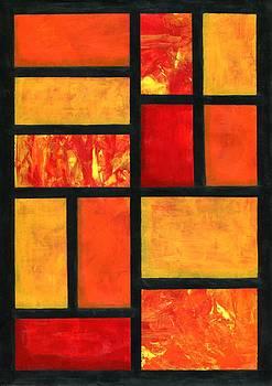 Favorite Colors Series Collage by Anthea Karuna
