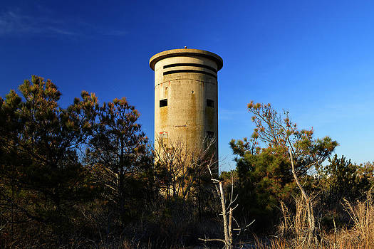 Bill Swartwout Fine Art Photography - FCT1 Fire Control Tower Sunny Day