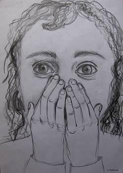 Fear in the Eyes by Lidia Kotzeva