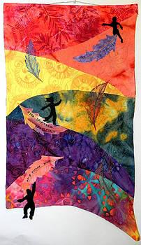 Feather In the Wind by Maureen Wartski