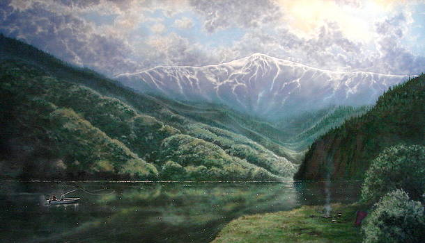 Feather River Canyon by Holly Smith