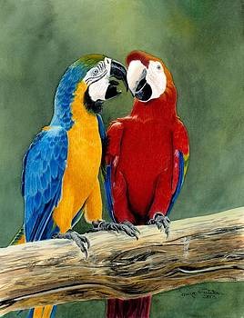 Feathered Friends by Tonya Butcher