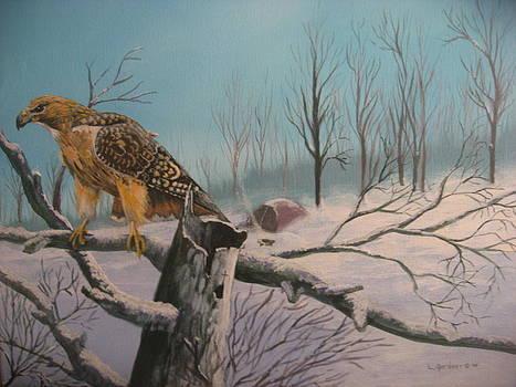 Feathered Sentinel by Lloyd  Gardner