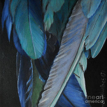 Feathers by Mary Hughes