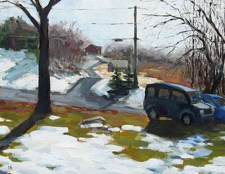 February Snow by William Noonan