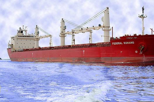 Linda Rae Cuthbertson - Federal Kumano Freighter Ship