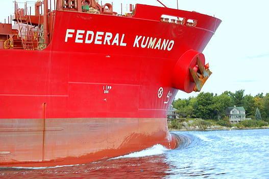 Linda Rae Cuthbertson - Federal Kumano Ship