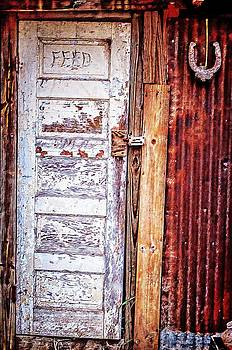 Feed Room Door by Kelly Kitchens