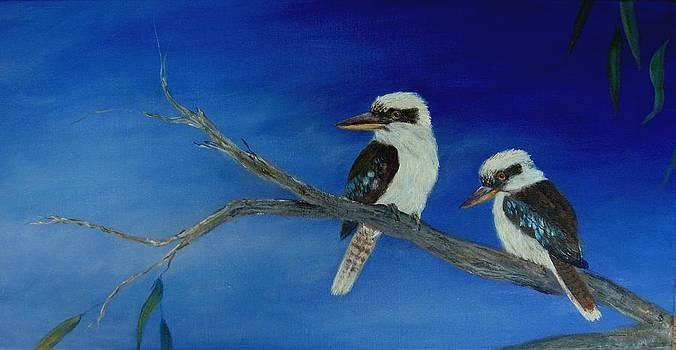 Feeling Blue by Rita Palm