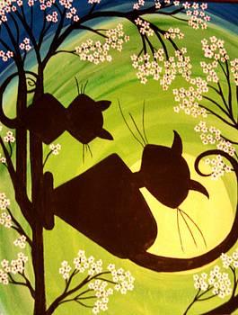 Feline Friends by Tammy Cote