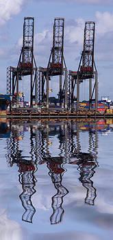 David French - Felixstowe container docks