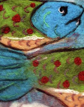 Felt Fish by Jill Dodd