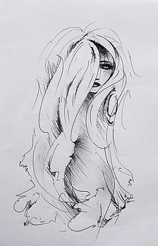 girly girl I by Rachel Christine Nowicki