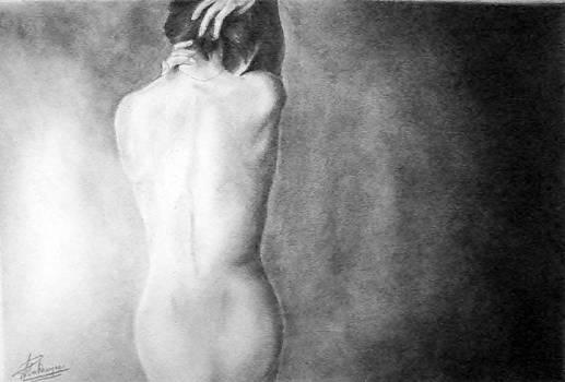 Feminine Iii by Suvam Majumder