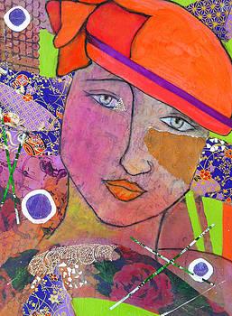Femme au Chapeau II by Elizabeth  Bogard