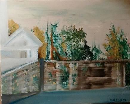 Fenced Garden by Gregory Dallum
